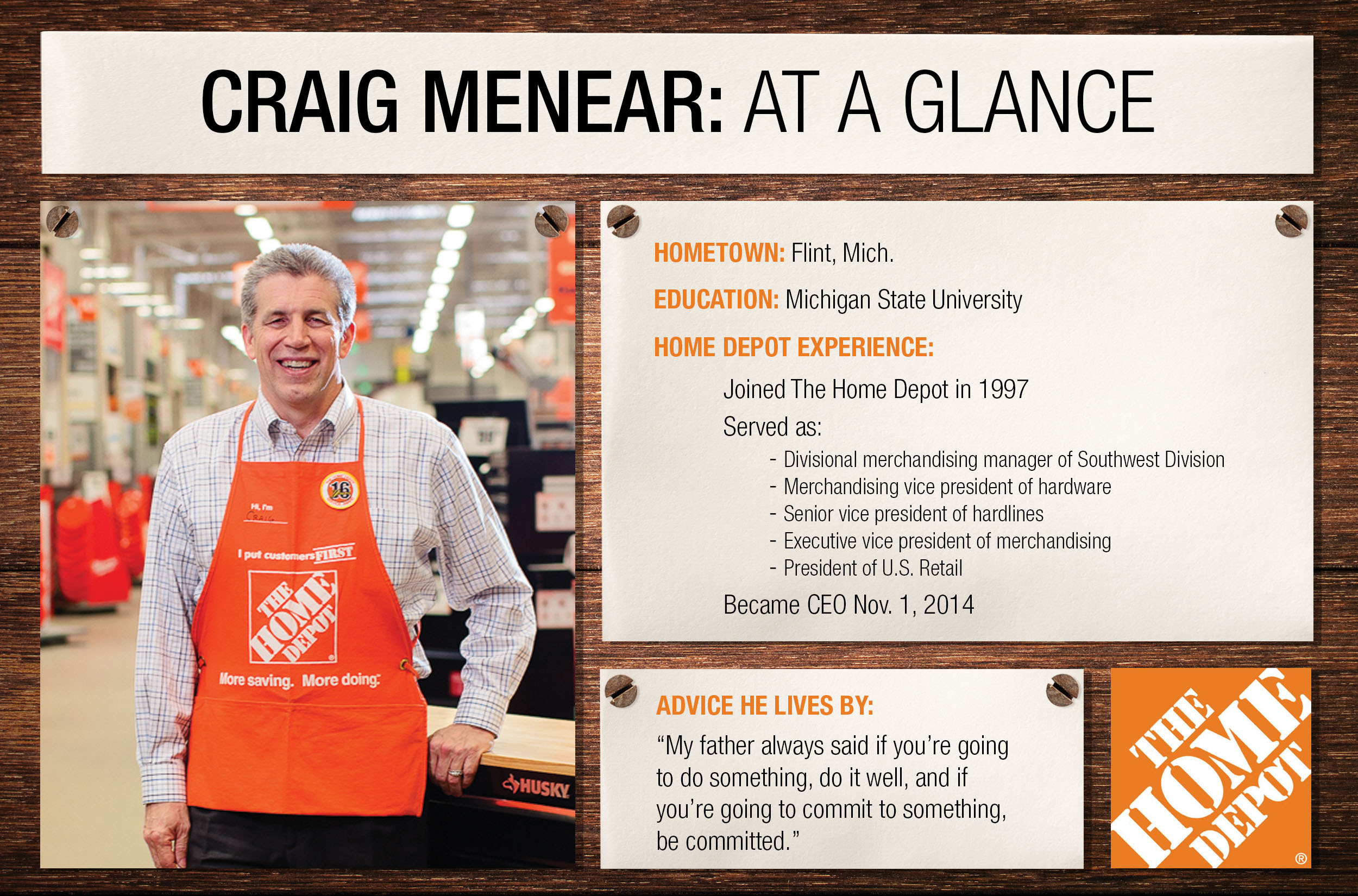 Craig Menear CEO of The Home Depot