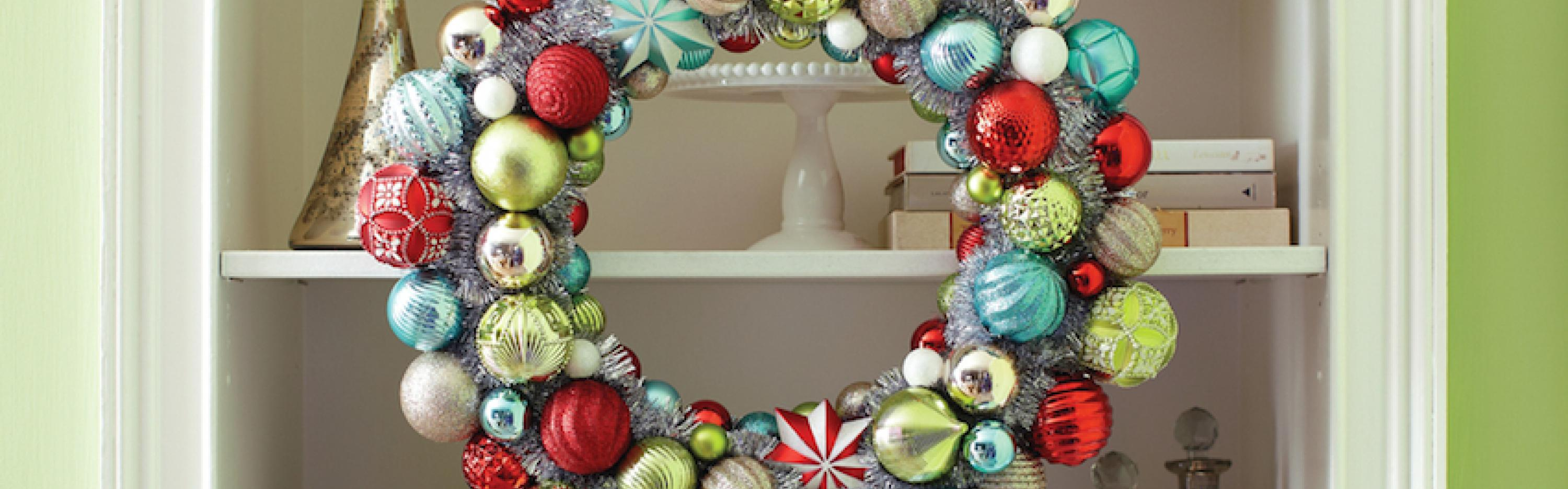 Holiday Frosted Traditions Wreath
